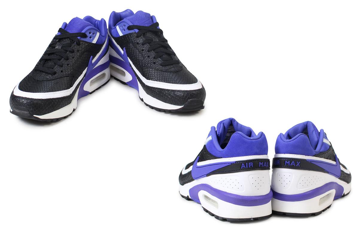 Nike NIKE Air Max men gap Dis sneakers AIR MAX BW PREMIUM 819,523 051 shoes black [227 Shinnyu load]