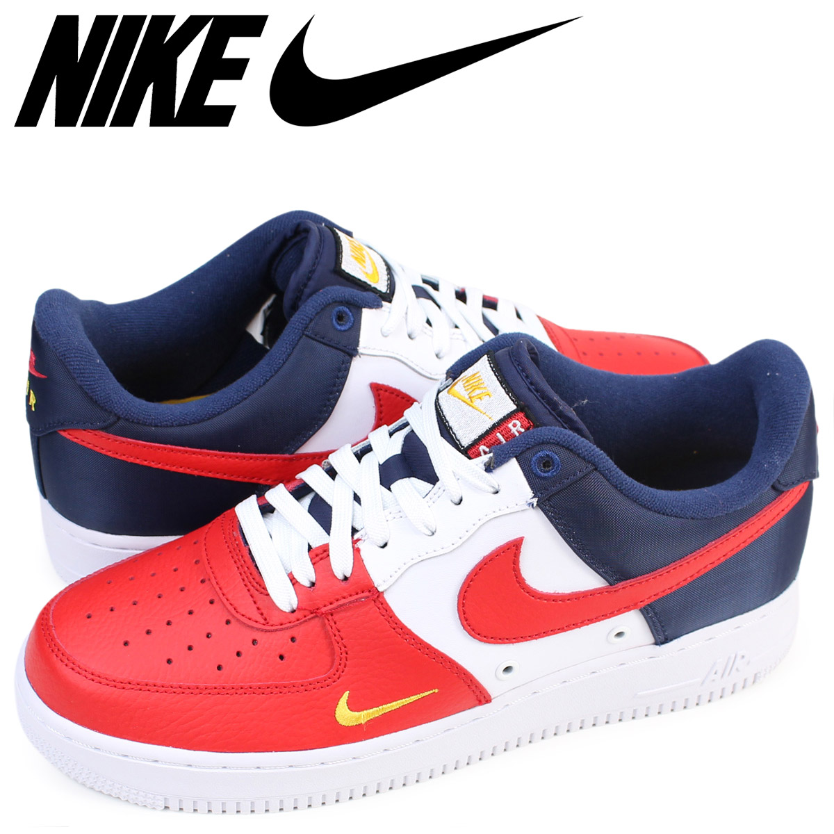NIKE Nike air force 1 sneakers AIR FORCE 1 LOW 07 LV8 men low 823,511,601  shoes tricolor [176]