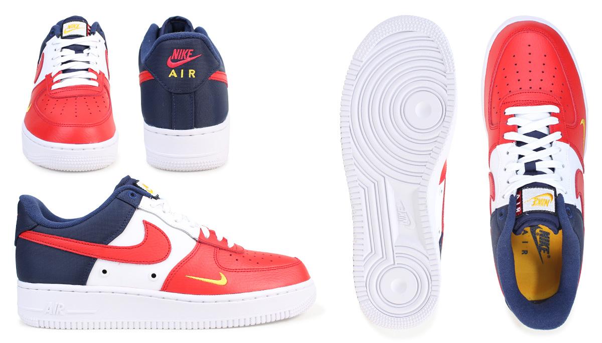 hot sale online ae757 7cd2b NIKE Nike air force 1 sneakers AIR FORCE 1 LOW 07 LV8 men low 823,511-601  shoes tricolor 176