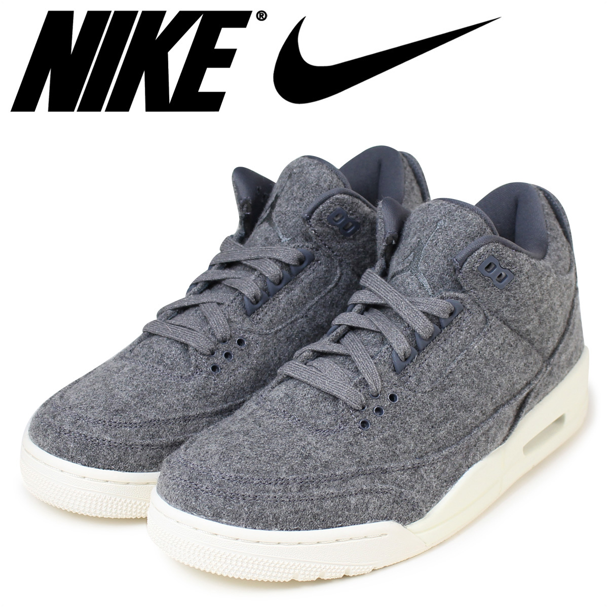 e2e2aff1d6b1 ALLSPORTS  Nike NIKE Air Jordan men sneakers AIR JORDAN 3 RETRO WOOL ...