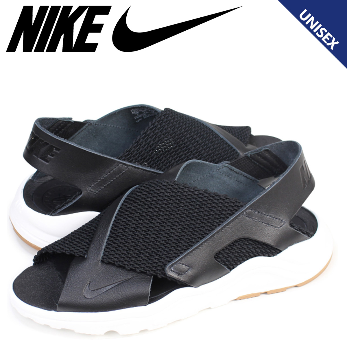 the best how to buy get new Nike NIKE エアハラチウルトラサンダル W AIR HUARACHE ULTRA Lady's men black black  885,118-001 [196]