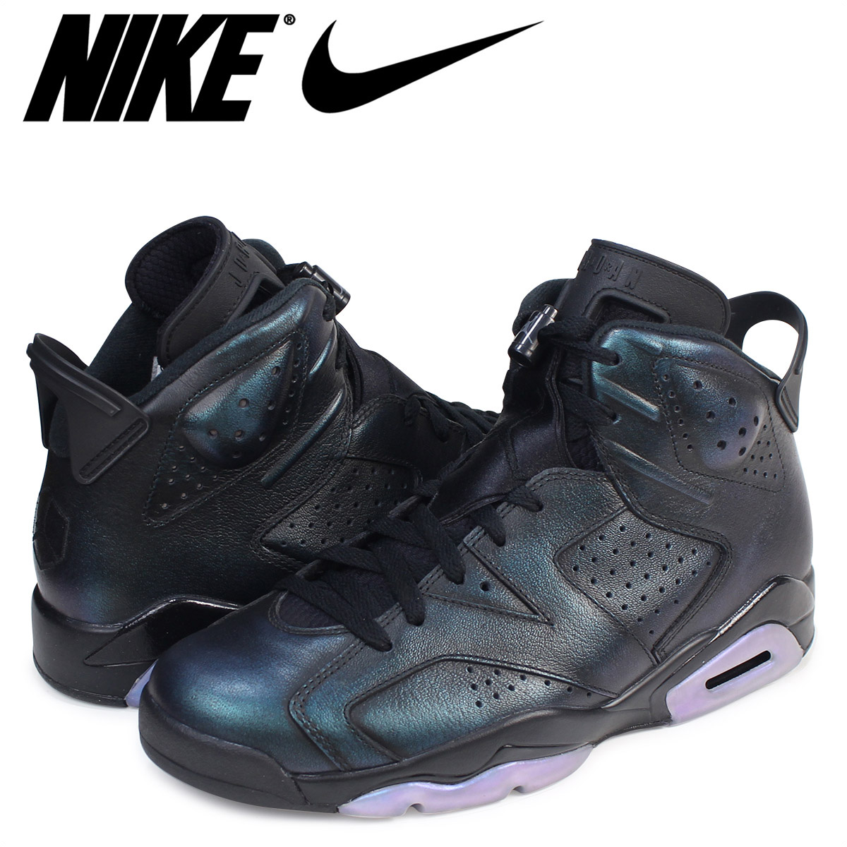 half off 6fdc2 995ad Nike NIKE Air Jordan 6 nostalgic sneakers AIR JORDAN 6 RETRO ALL STAR  907,961-015 men's shoes black [load planned Shinnyu load in reservation  product ...
