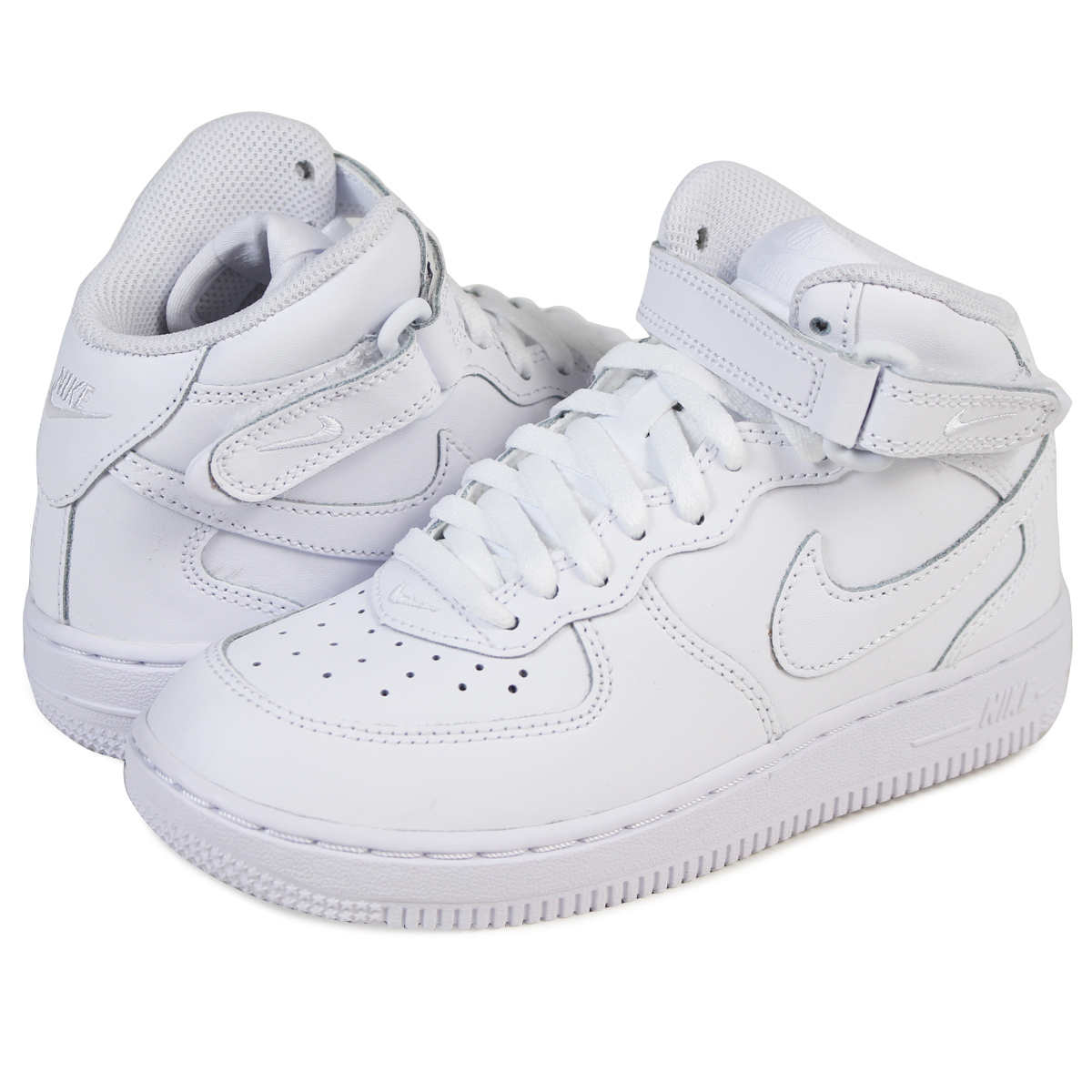 7b51b813 Nike NIKE kids ' AIR FORCE 1 MID PS sneakers air force 1 mid preschool  leather junior kids PRESCHOOL 314196-113 white [12 / 26 new stock]  [regular] ★ ...