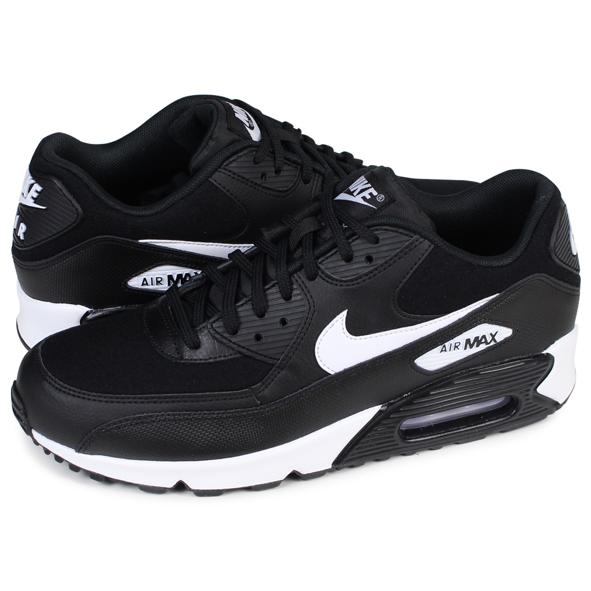 the best attitude b1d0e 2b67b NIKE WMNS AIR MAX 90 Kie Ney AMAX 90 Lady's sneakers 325,213-047 men's  shoes black [load planned Shinnyu load in reservation product 12/21  containing] ...