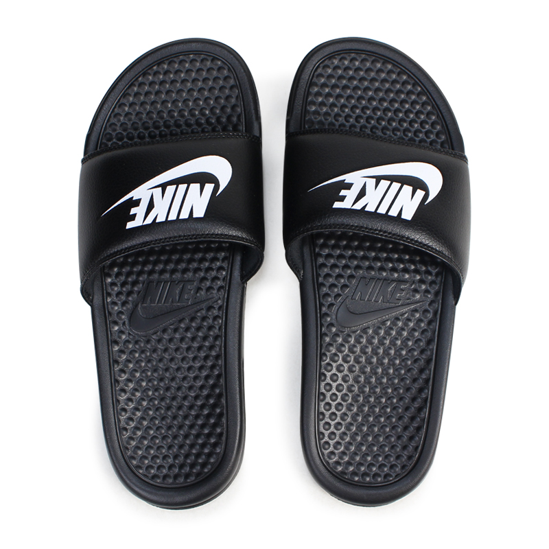 timeless design 64117 f050f NIKE BENASSI JUST DO IT Nike sandals べ ナッシシャワーサンダルスポーツメンズレディース 343,880-090  black  load planned Shinnyu load in reservation product ...