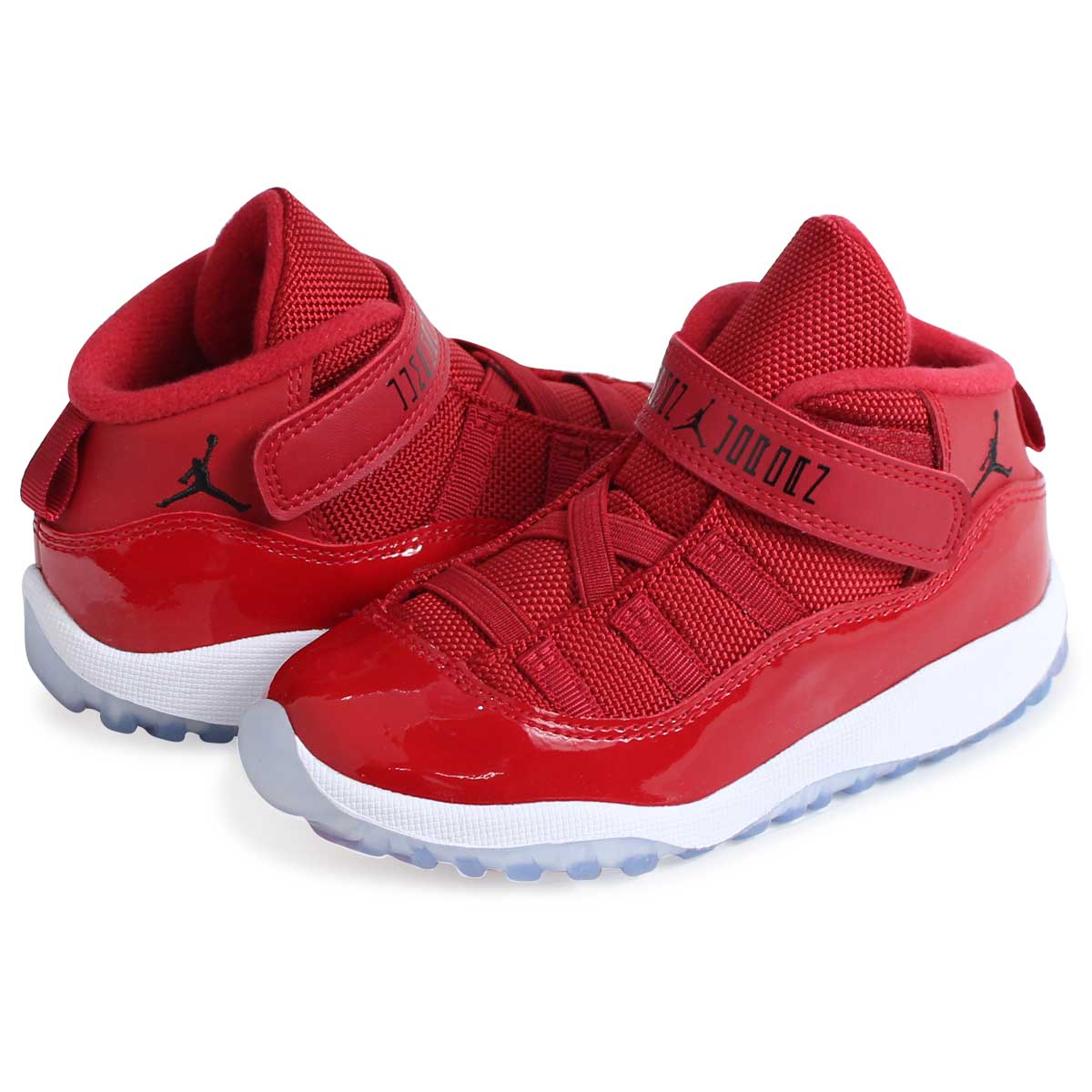 the latest 84200 de8d1 NIKE AIR JORDAN 11 BT WIN LIKE 96 Nike Air Jordan 11 baby sneakers  378,040-623 shoes red [load planned Shinnyu load in reservation product  12/22 ...