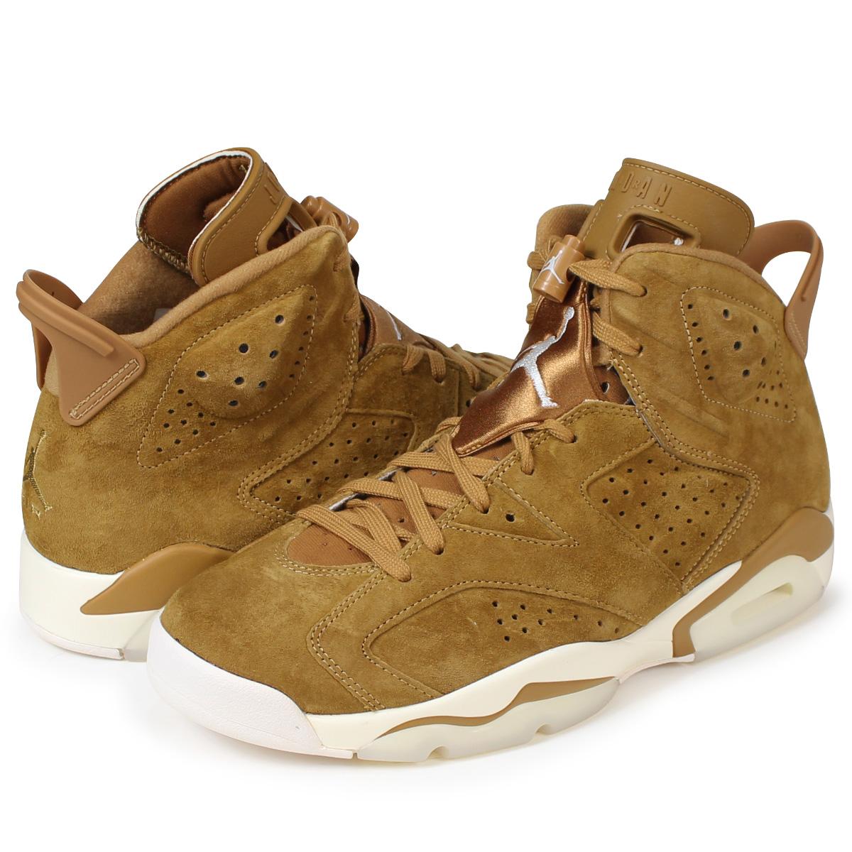 1323a1874b01 ALLSPORTS  NIKE AIR JORDAN 6 RETRO WHEAT Nike Air Jordan 6 nostalgic ...