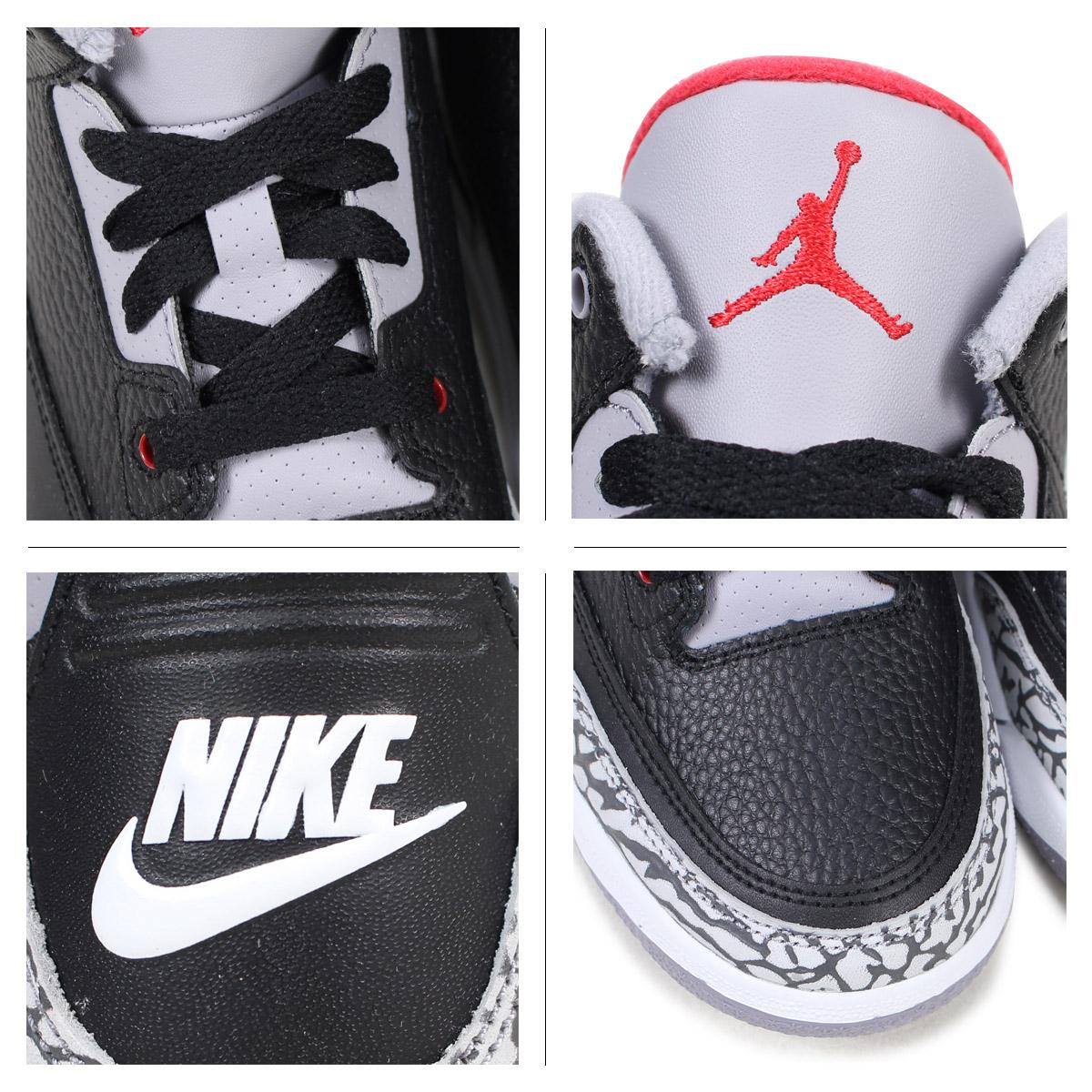 ddb297e3055 ... NIKE AIR JORDAN 3 RETRO BP Nike Air Jordan 3 nostalgic kids sneakers  429,487-021