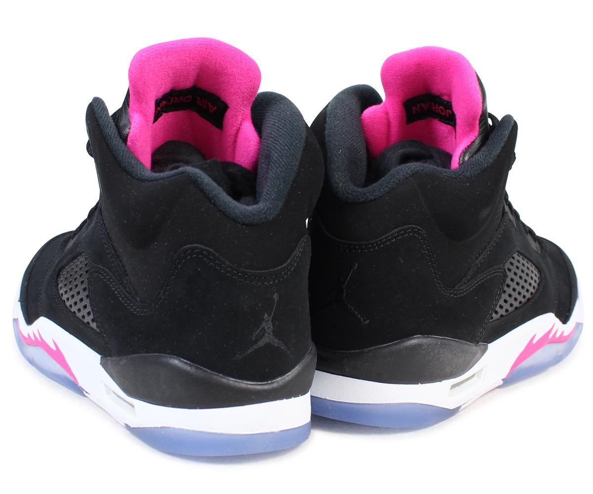 e2a0f3931ad151 NIKE AIR JORDAN 5 RETRO GG Nike Air Jordan 5 nostalgic lady s sneakers  440