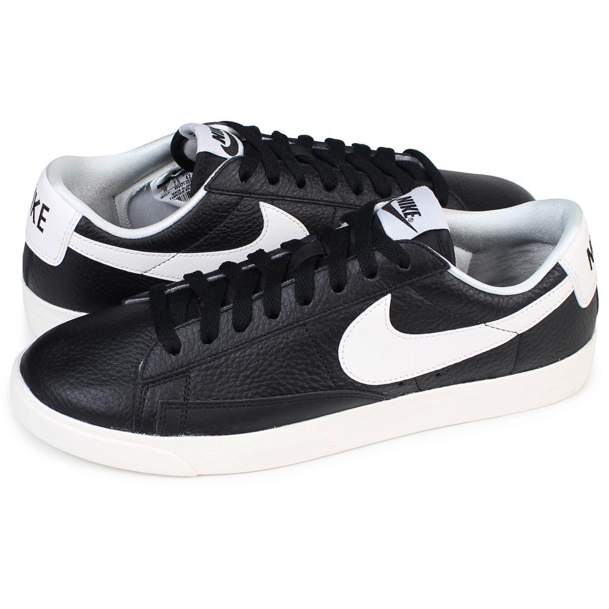 on sale 42a85 484ac NIKE WMNS BLAZER LOW PREMIUM Nike blazer Lady s sneakers 454,471-004 men s  shoes black ...