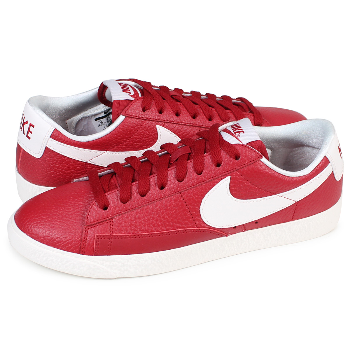 the best attitude 5c096 38f2a NIKE WMNS BLAZER LOW PREMIUM Nike blazer Lady s sneakers 454,471-601 men s  shoes red ...