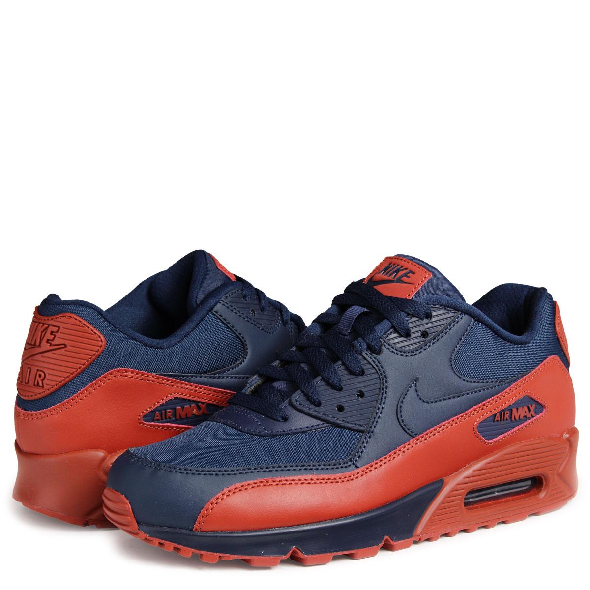 NIKE AIR MAX 90 ESSENTIAL Kie Ney AMAX 90 essential sneakers 537,384 425 men's shoes navy