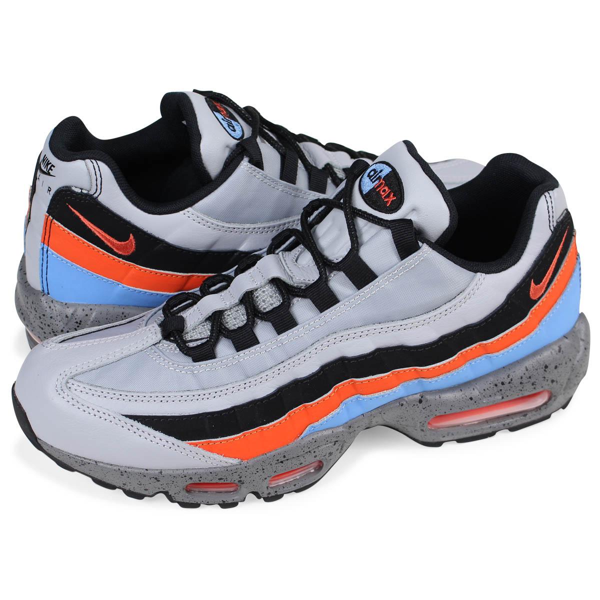 NIKE AIR MAX 95 PREMIUM Kie Ney AMAX 95 premium sneakers men 538,416-015  gray