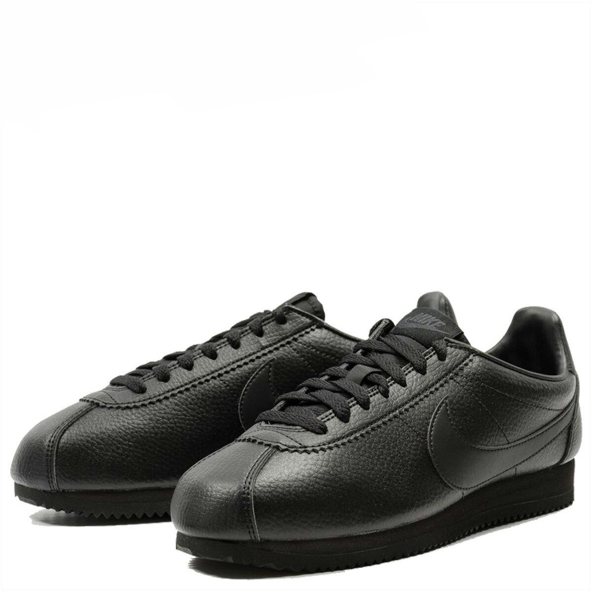 new product d0d4d 9b5db NIKE CLASSIC CORTEZ LEATHER ナイキコルテッツクラシックスニーカー 749,571-002 men's shoes  black [10/4 Shinnyu load]