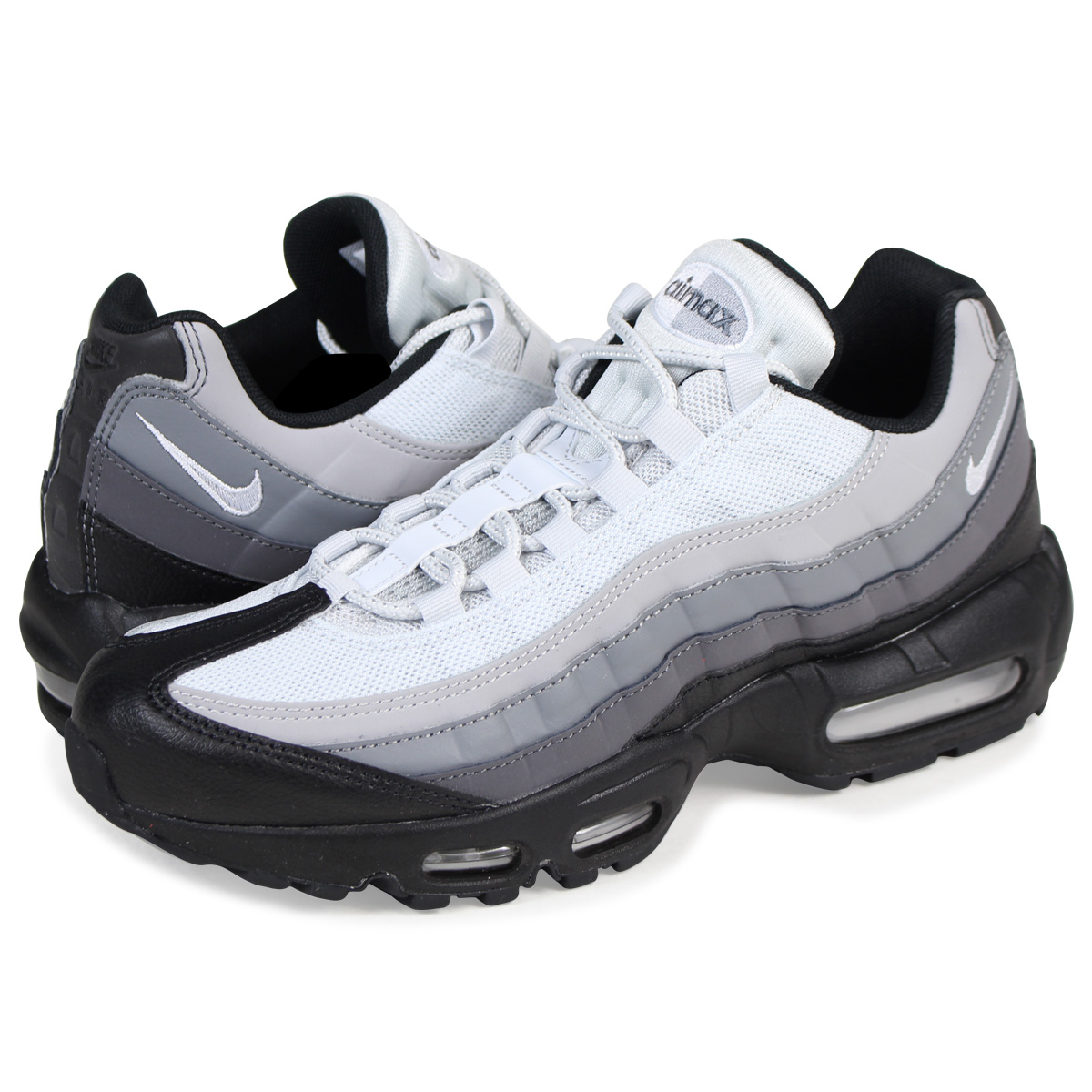 check out 96d91 2f05f NIKE AIR MAX 95 ESSENTIAL Kie Ney AMAX 95 essential sneakers 749,766-022 men s  shoes black  load planned Shinnyu load in reservation product 10 13 ...