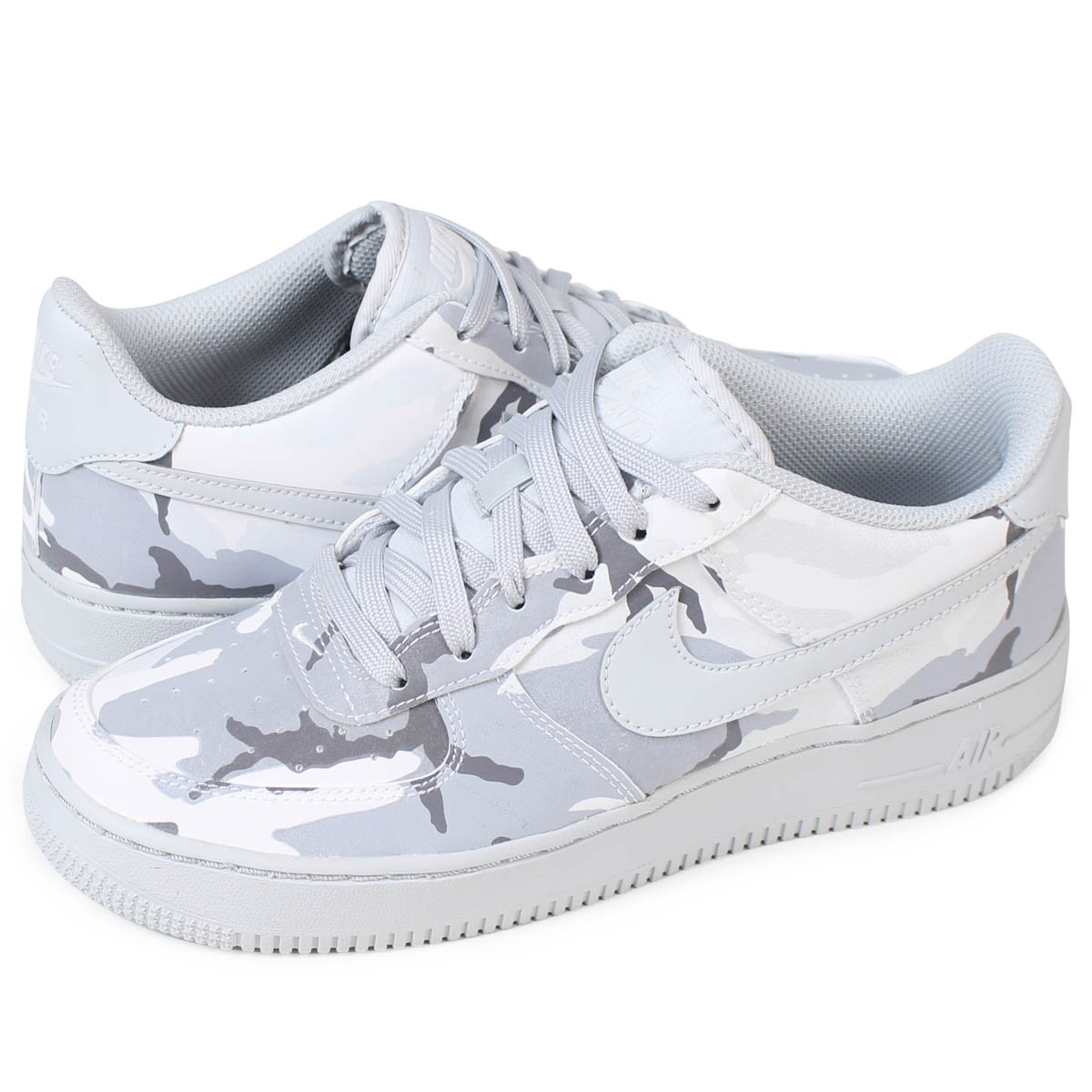 NIKE AIR FORCE 1 GS Nike air force 1 LV8 Lady's sneakers 820,438 104 shoes white [load planned Shinnyu load in reservation product 1228 containing]