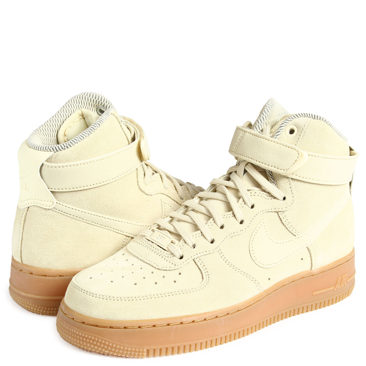 Nike WMNS Air Force 1 High SE Ivory 860544 100 | SneakerFiles