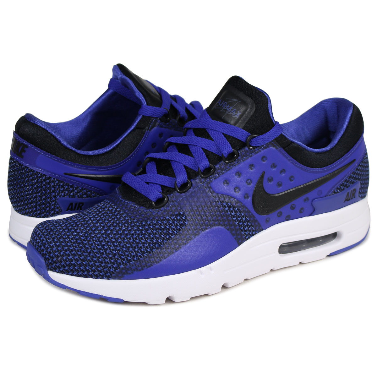 newest 23c5f af4a5 ALLSPORTS  NIKE AIR MAX ZERO ESSENTIAL Kie Ney AMAX zero sneakers  876,070-001 men s shoes blue  10 4 Shinnyu load    Rakuten Global Market