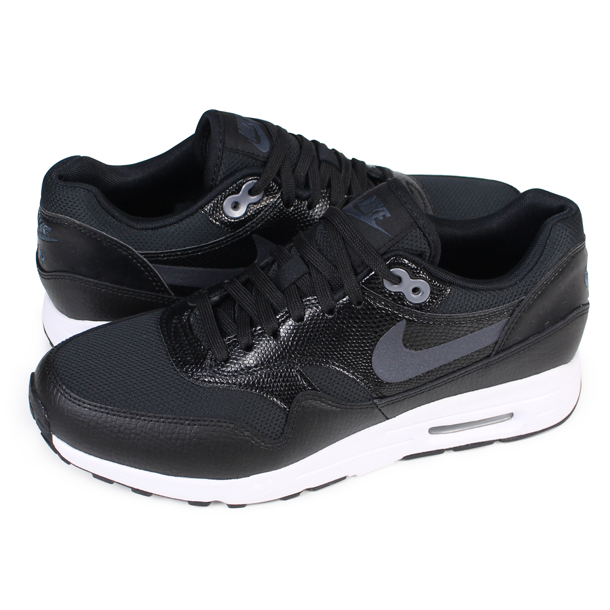 NIKE WMNS AIR MAX 1 ULTRA Kie Ney AMAX 1 ultra 2.0 Lady's sneakers 881,104 002 shoes black