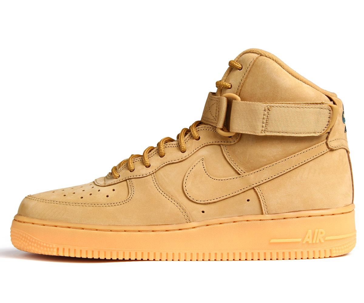 NIKE AIR FORCE 1 HIGH FLAX Nike air force 1 07 LV8 sneakers WB 882,096 200 メンズエレベート shoes ウィート [1019 Shinnyu load] [1710]