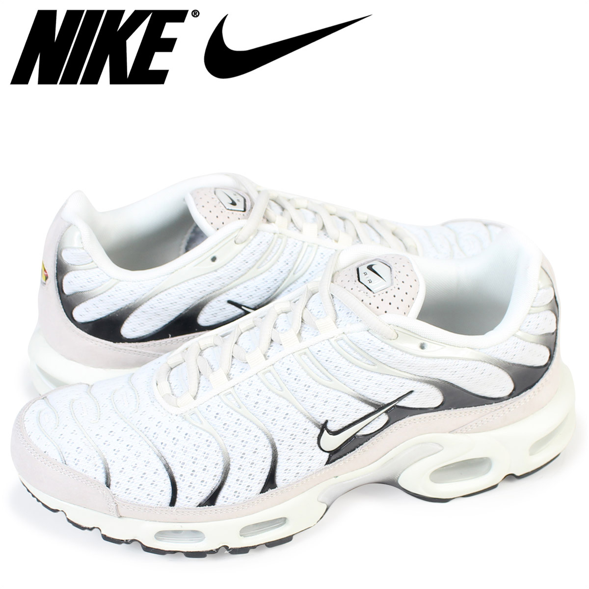 ALLSPORTS Rakuten Global Market NIKE LAB Nike laboratory Air Max sneakers AIR MAX PLUS 898018100 mens shoes white 96 Shinnyu load 179