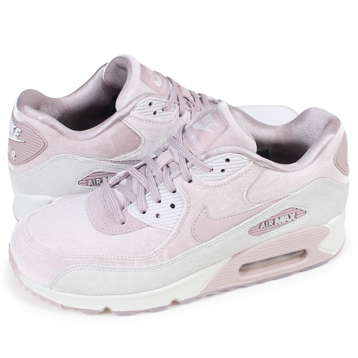 new arrival e2f28 83568 NIKE WMNS AIR MAX 90 LX Kie Ney AMAX 90 Lady's sneakers 898,512-600 shoes  pink [1/9 Shinnyu load] [1801]