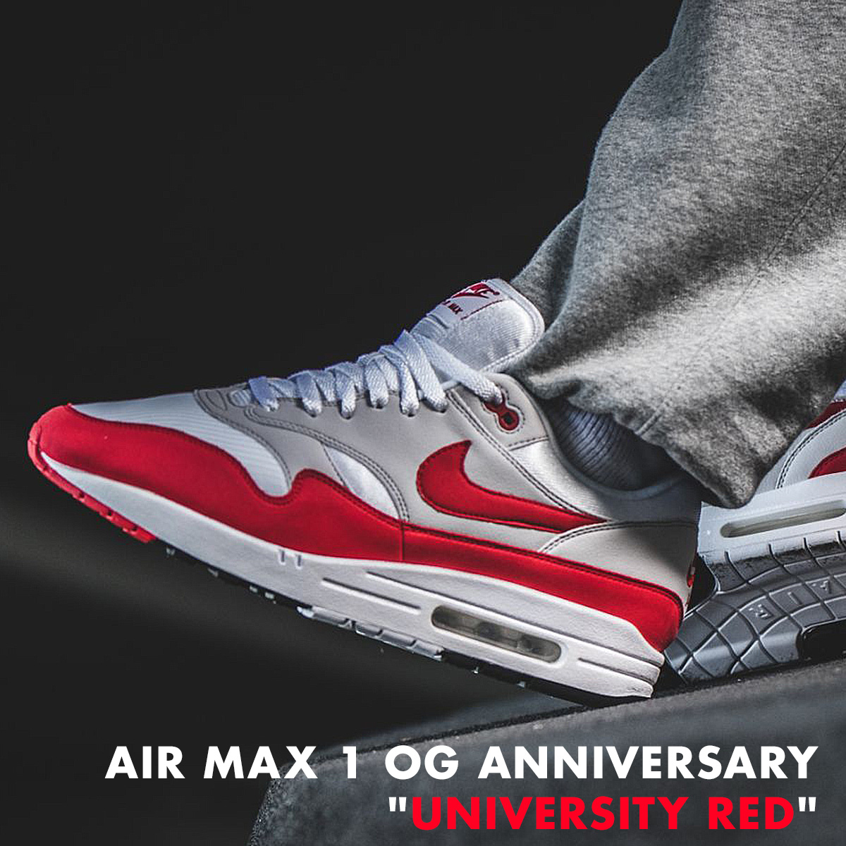 detailed look b31be 7dfff NIKE AIR MAX 1 ANNIVERSARY Kie Ney AMAX 1 anniversary sneakers 908,375-103  men s red  load planned Shinnyu load in reservation product 2 9 containing    182
