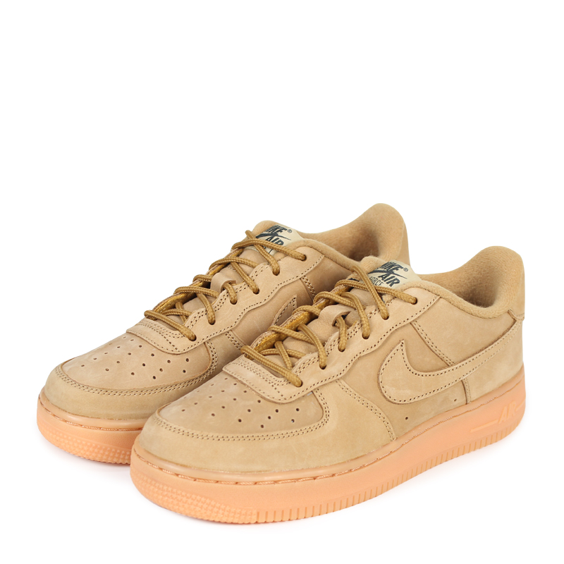 sale retailer f94a5 f6a27 NIKE AIR FORCE 1 LOW WINTER PREMIUM GS WHEAT Nike air force 1 lady s  sneakers 943,312-200 beige  2 28 Shinnyu load   182