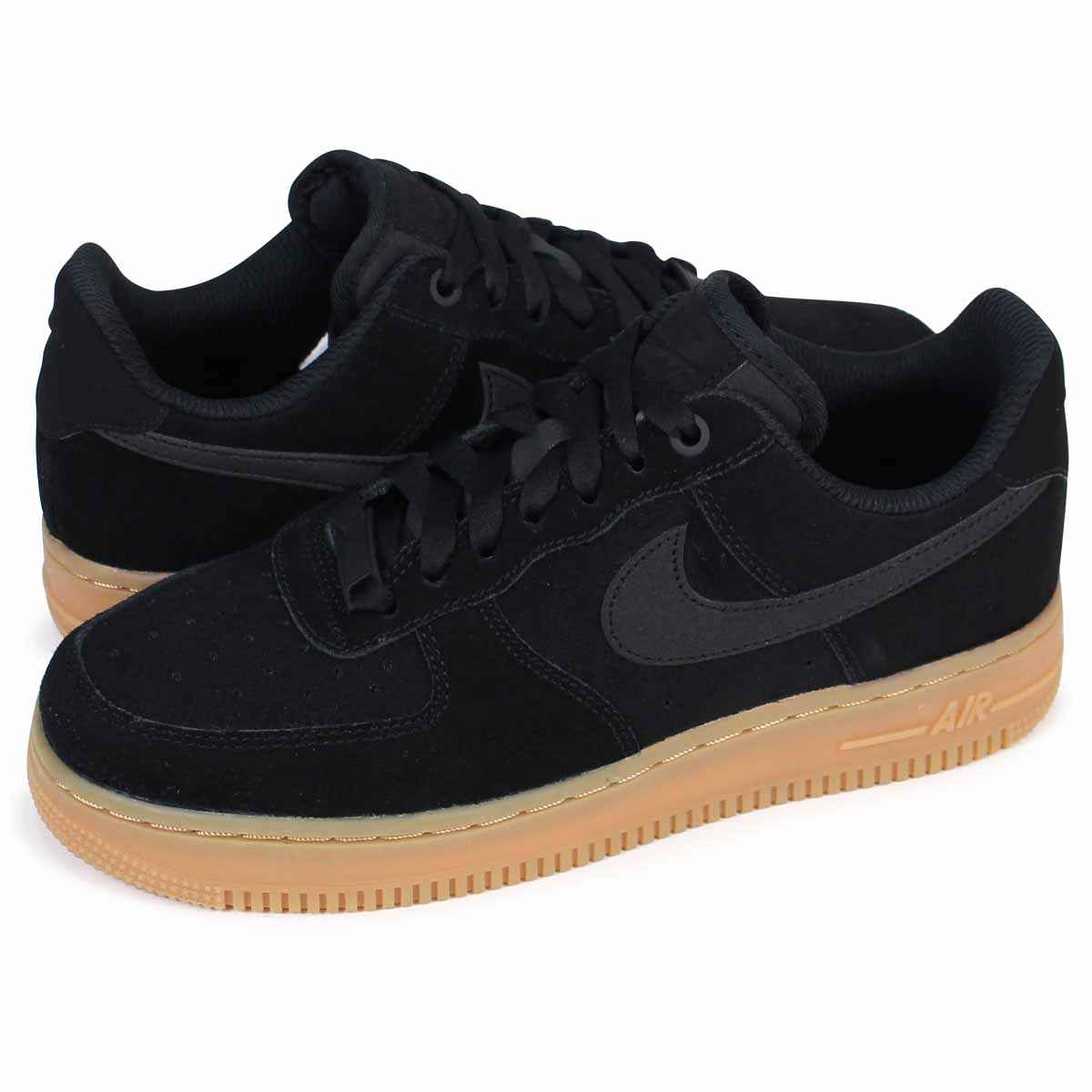 NIKE WMNS AIR FORCE 1 SE Nike air force 1 07 lady's sneakers AA0287 002 shoes black