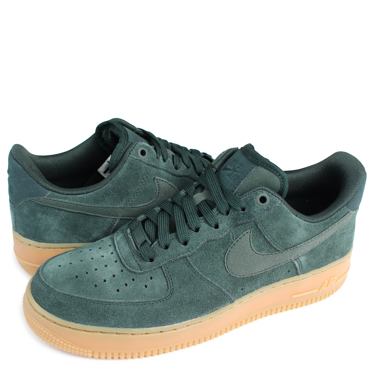 Green Suede Nike AirForce 1