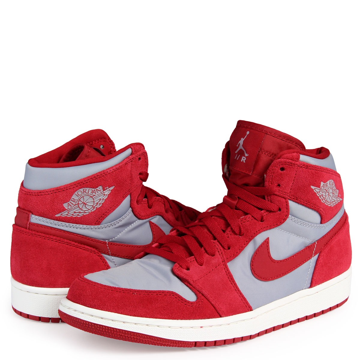a17f1c63c28 ALLSPORTS: NIKE AIR JORDAN 1 RETRO HIGH PREMIUM Nike Air Jordan 1 nostalgic  high sneakers AA3993-601 men shoes red [10/16 Shinnyu load] [1710] |  Rakuten ...