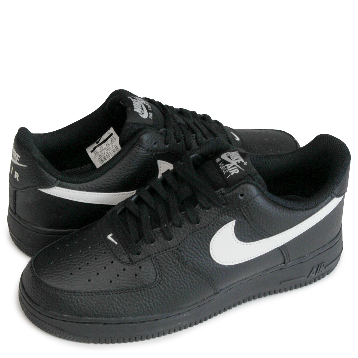 NIKE AIR FORCE 1 Nike air force 1 07 sneakers AA4083 001 men shoes black [load planned Shinnyu load in reservation product 1019 containing] [1710]