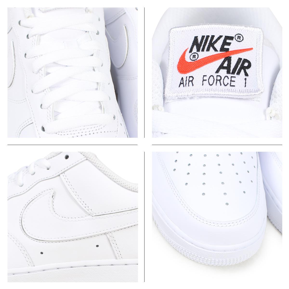 online store 56179 d50d9 Nike NIKE air force 1 sneakers men AIR FORCE 1 LOW QS SWOOSH PACK AH8462-102  white  187