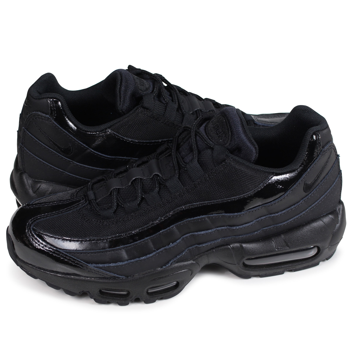Nike Air Max 95 BlackBlack Black Men's Running Shoes 307960