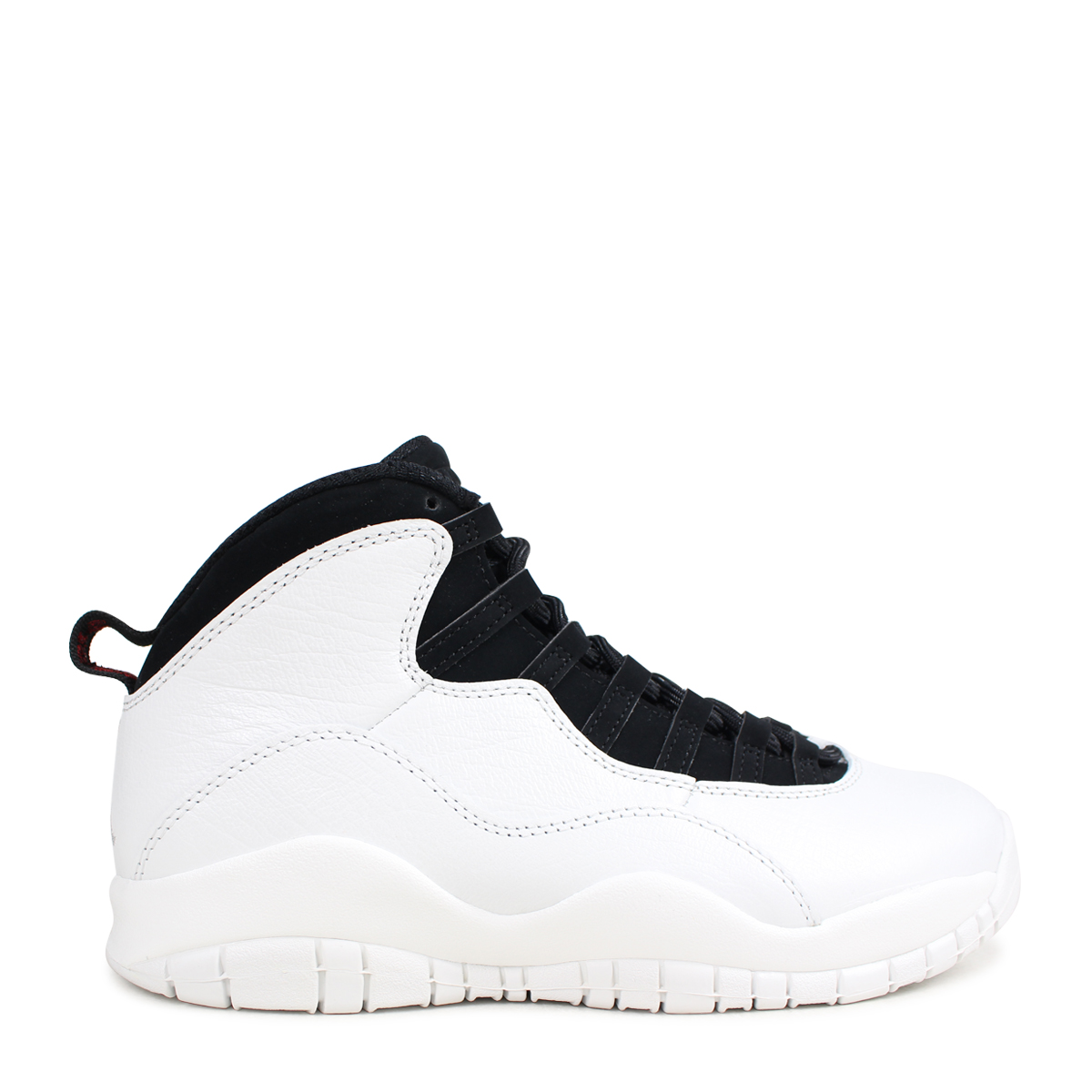 buy online 88d5d 7e62d NIKE AIR JORDAN 10 RETRO I'M BACK Nike Air Jordan 10 nostalgic sneakers men  310,805-104 white [3/30 Shinnyu load] [183]
