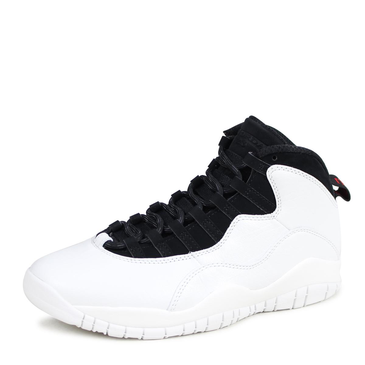 on sale 34884 d34b7 NIKE AIR JORDAN 10 RETRO I M BACK Nike Air Jordan 10 nostalgic sneakers men  310,805-104 white  3 30 Shinnyu load   183