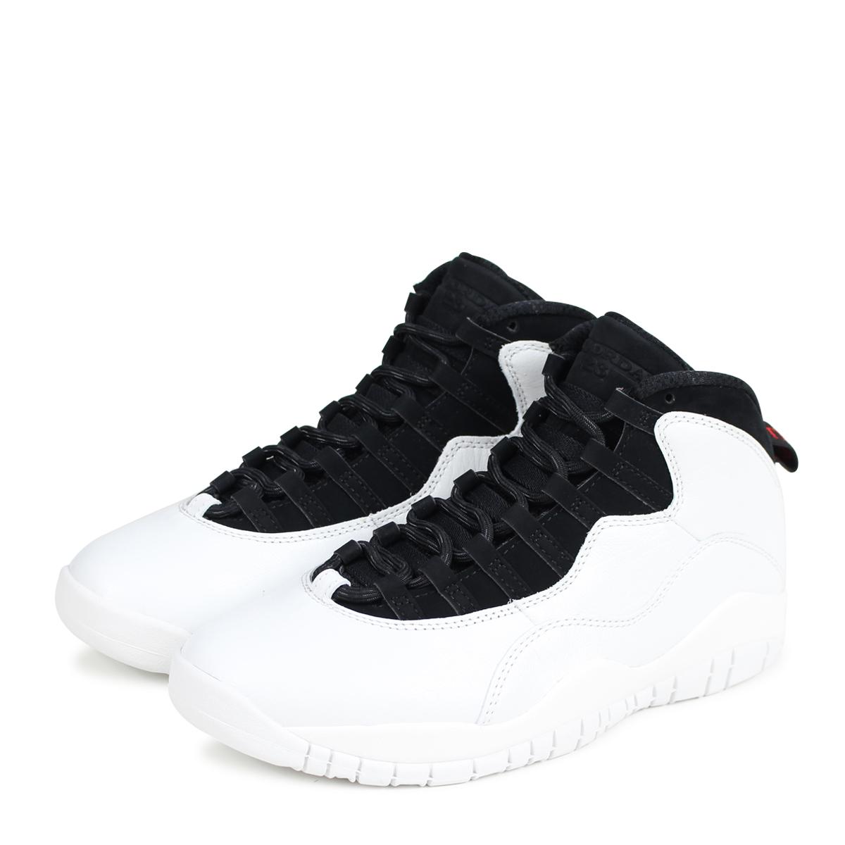 on sale 9616f e3427 NIKE AIR JORDAN 10 RETRO I M BACK Nike Air Jordan 10 nostalgic sneakers men  310,805-104 white  3 30 Shinnyu load   183