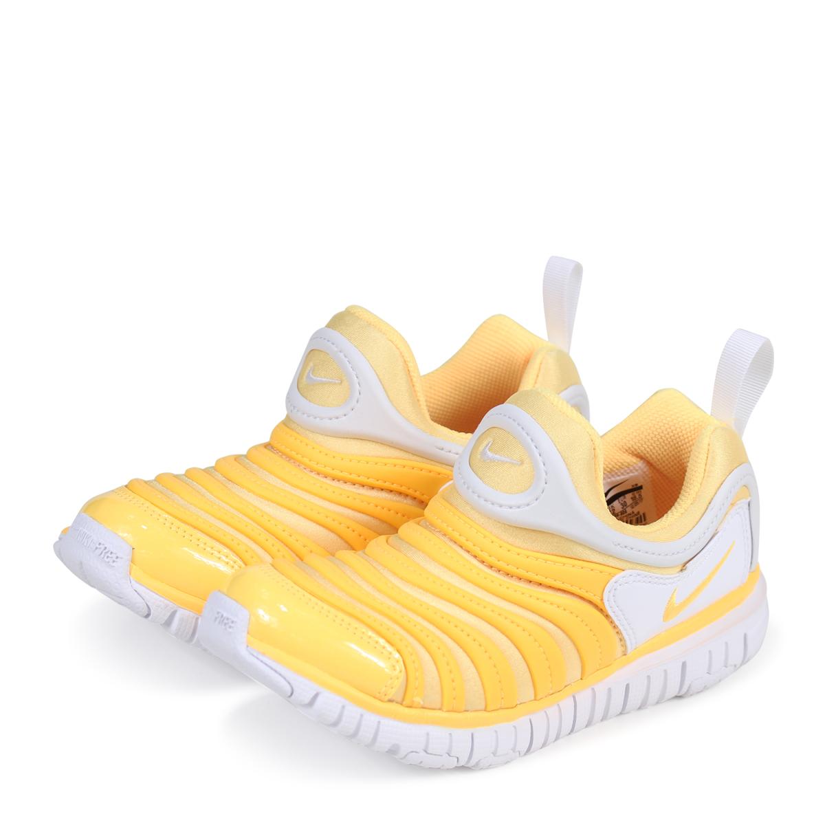 huge discount f1647 ece25 NIKE DYNAMO FREE PS Nike dynamo-free kids sneakers 343,738-806 yellow  3 ...