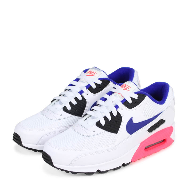 Nike Air Max 90 Essential Mens 537384 136 Ultramarine Solar