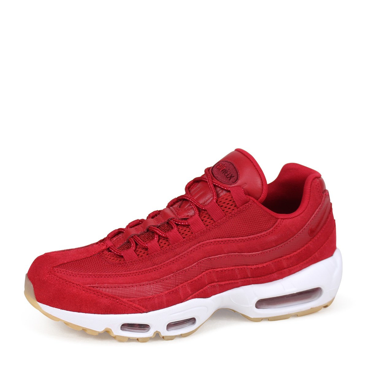 brand new 28c5f eaf9f NIKE AIR MAX 95 PREMIUM Kie Ney AMAX 95 sneakers men 538,416-602 red load  planned Shinnyu load in reservation product 512 containing 185