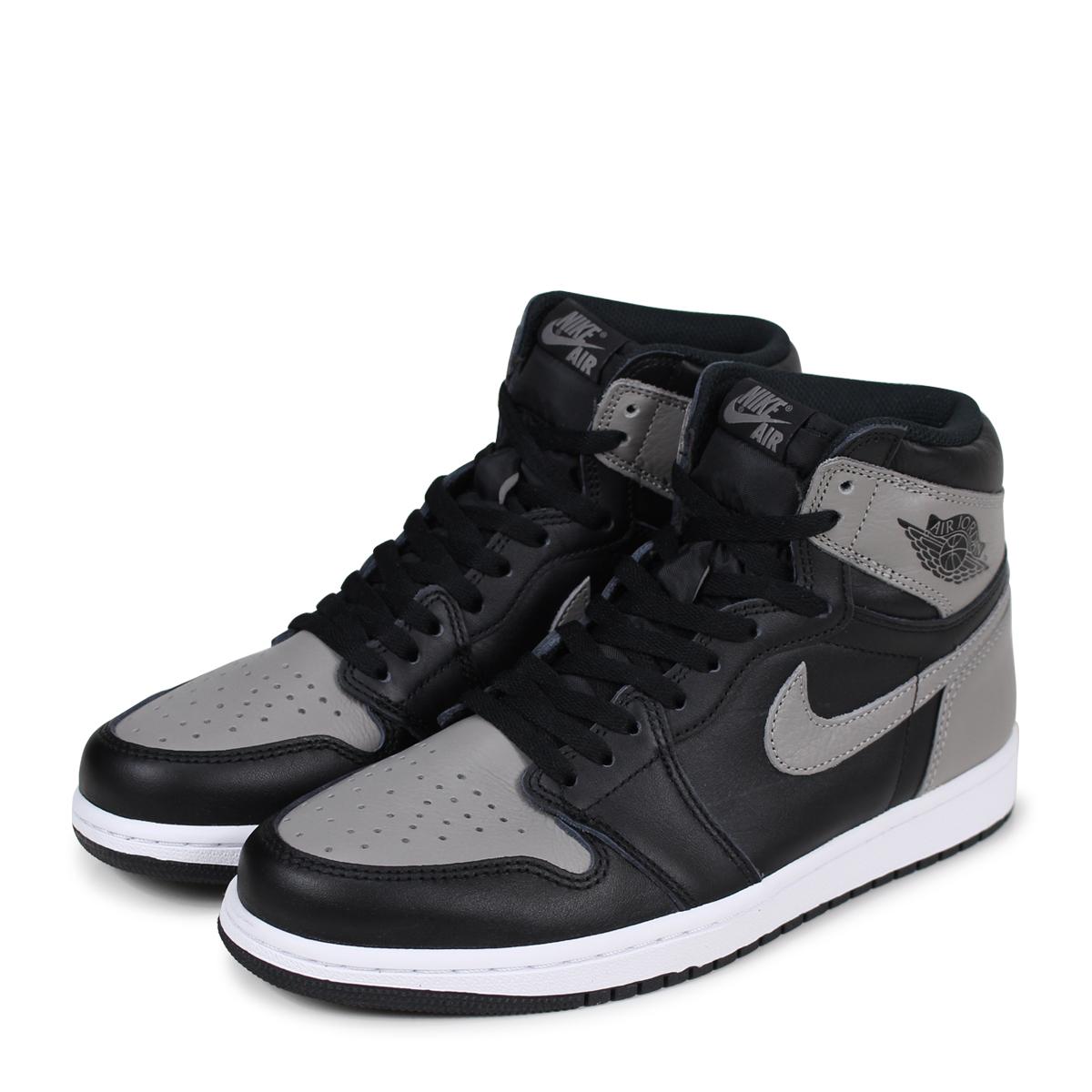 a13d084b60e NIKE AIR JORDAN 1 RETRO HIGH OG SHADOW Nike Air Jordan 1 nostalgic high  sneakers men ...