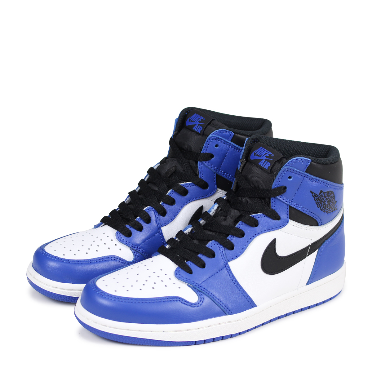 Nike Nike Air Jordan 1 Retro hi top sneakers Blue from Farfetch:Linkshare:Affiliate:CPA:US:US | Shop