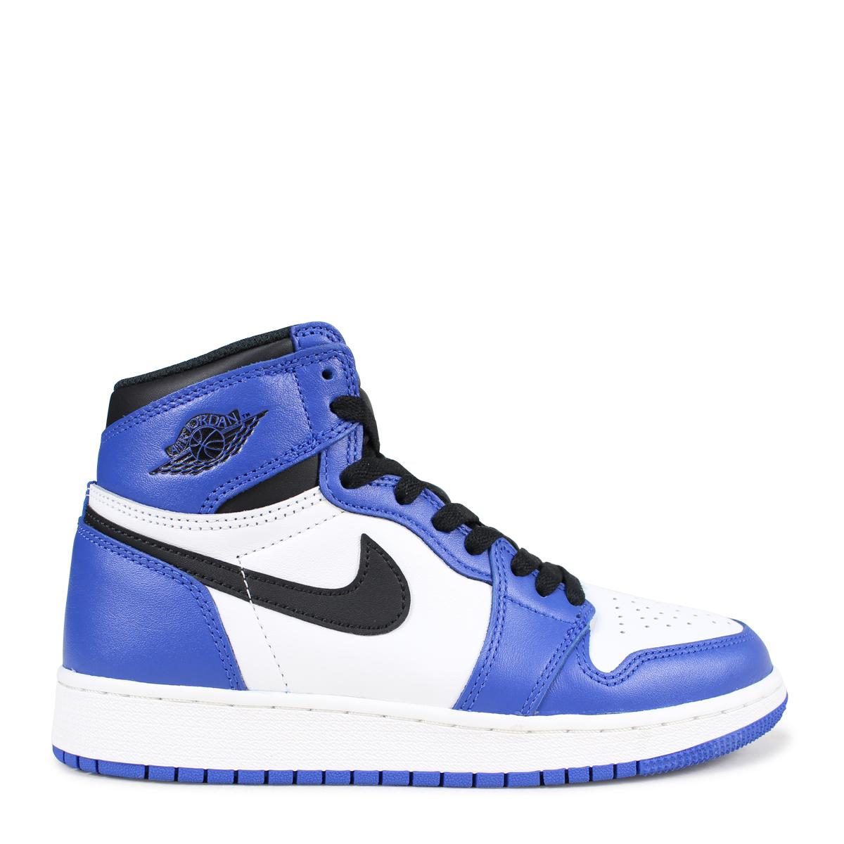 281e20540b7 ... NIKE AIR JORDAN 1 RETRO HIGH OG BG GAME ROYAL Nike Air Jordan 1  nostalgic Haile ...
