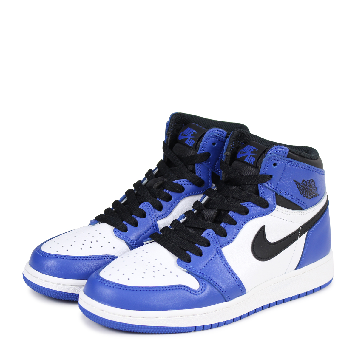 evitar Cenar Bungalow  ALLSPORTS: NIKE AIR JORDAN 1 RETRO HIGH OG BG GAME ROYAL Nike Air ...