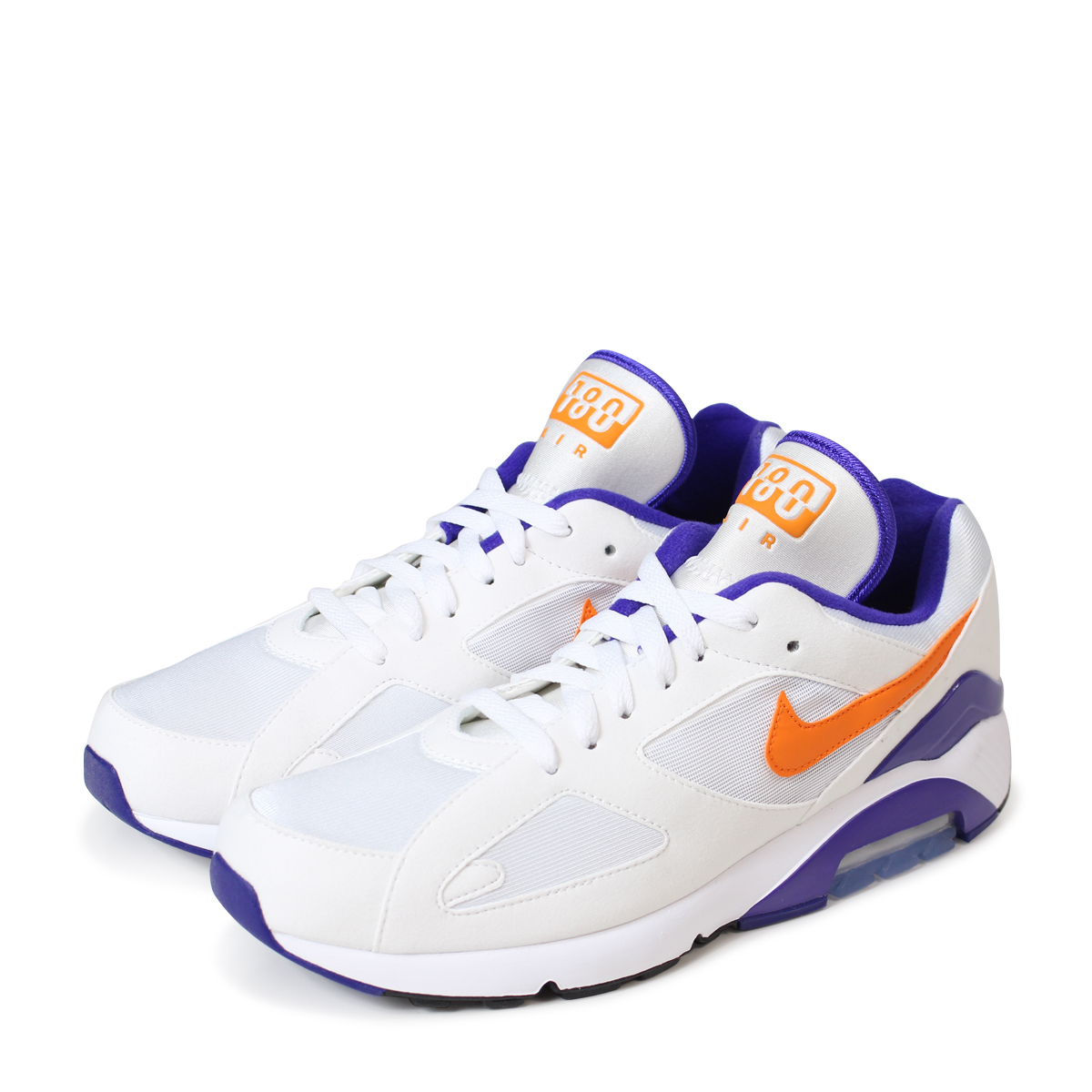 pas cher pour réduction cf0f8 243cb Nike NIKE Air Max 180 sneakers men AIR MAX 180 615,287-101 white [193]