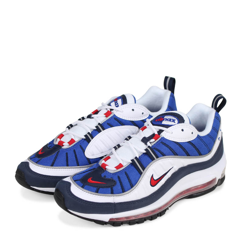 8217f245bb NIKE AIR MAX 98 GUNDAM Kie Ney AMAX 98 sneakers men 640,744-100 white ...