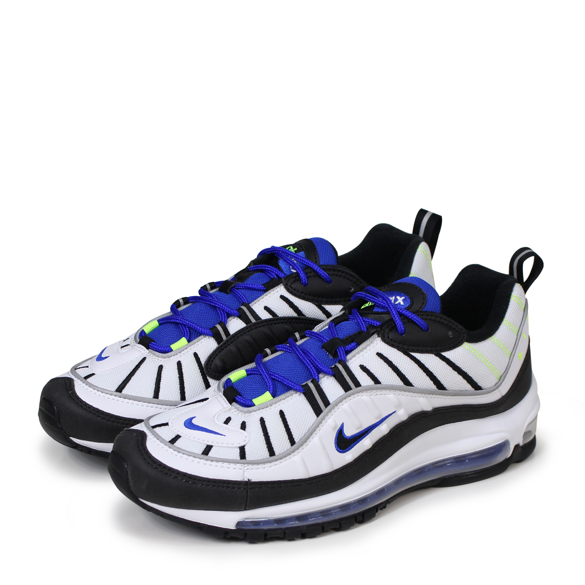 low priced 2d5c8 856f3 NIKE AIR MAX 98 RACER BLUE Kie Ney AMAX 98 sneakers men 640,744-103 blue ...