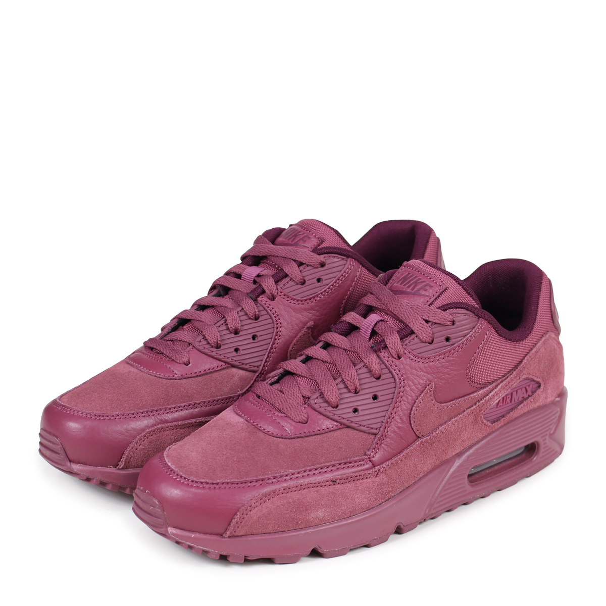 low priced e768e ae0e2 NIKE AIR MAX 90 PREMIUM Kie Ney AMAX 90 sneakers men 700,155-601 red ...