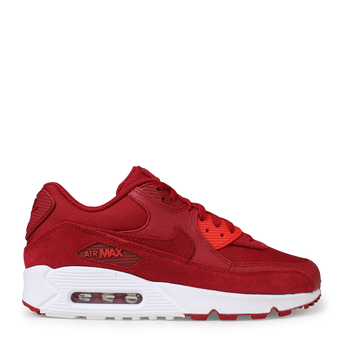 5658f995d4 ... NIKE AIR MAX 90 PREMIUM Kie Ney AMAX 90 sneakers men 700,155-602 red ...