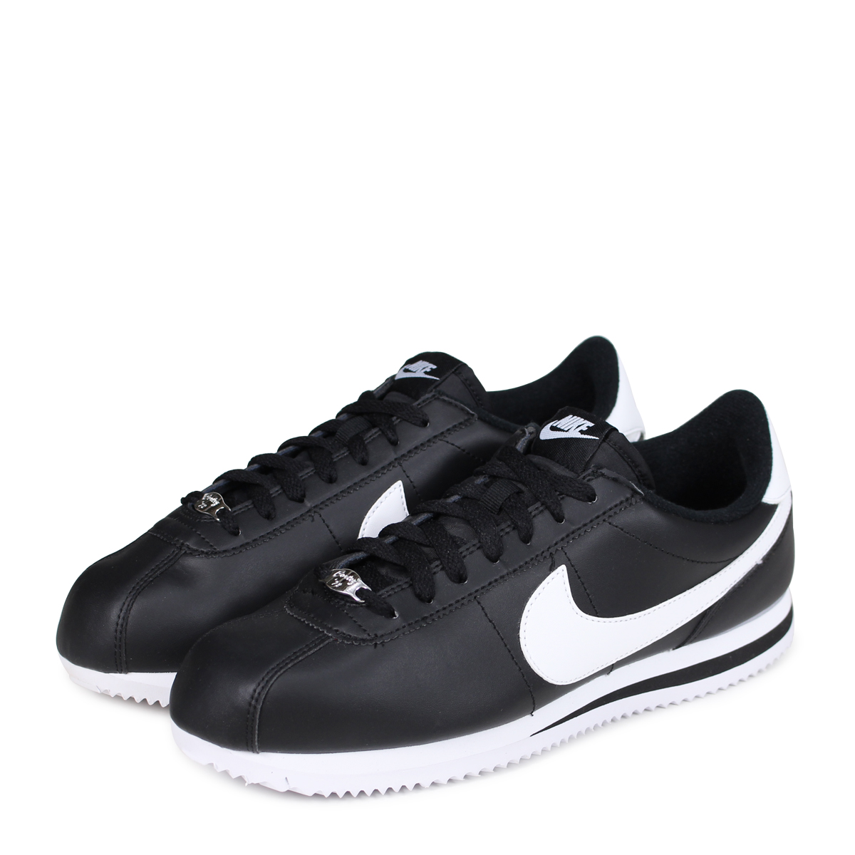 cheap for discount 51a7a 29091 Nike NIKE Cortez sneakers CORTEZ BASIC LEATHER 819719-012 mens shoes black  ...
